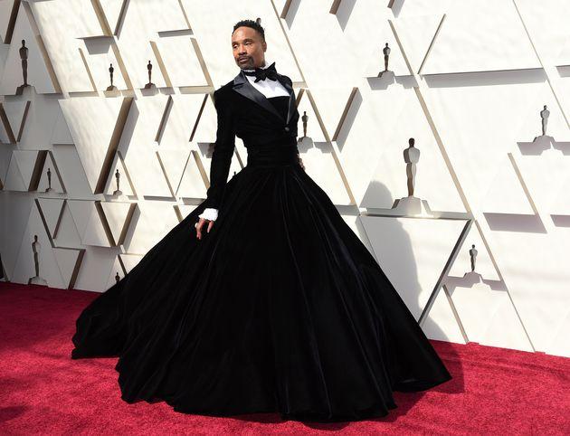 Billy in his stunning tuxedo dress last