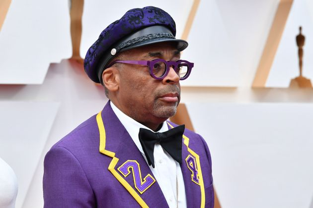 Spike Lee attends the 92nd Annual Academy Awards on