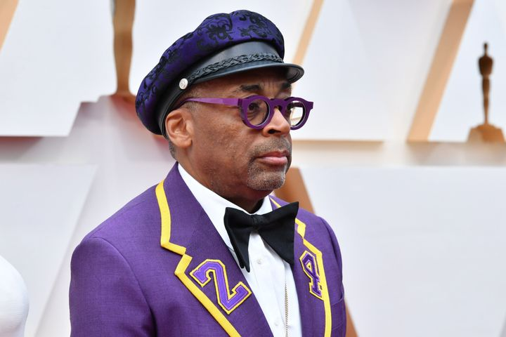 Spike Lee attends the 92nd Annual Academy Awards on Sunday.