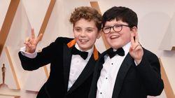 'Jojo Rabbit' Boys Take Oscars By Storm With Unbelievably Cute Red Carpet