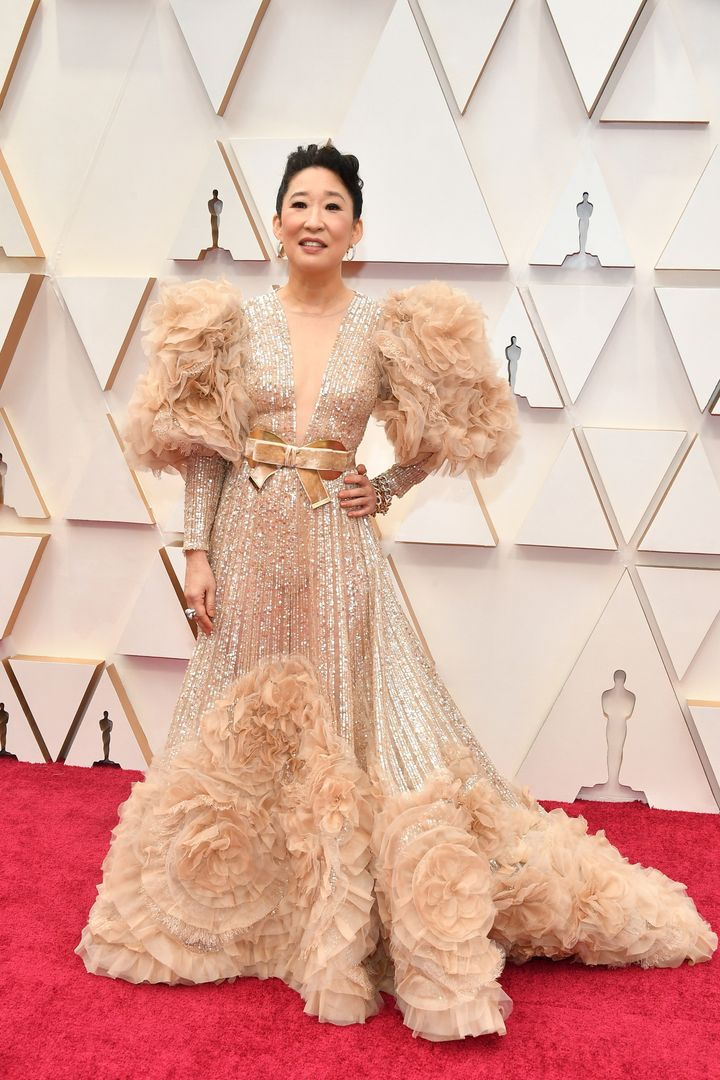 HOLLYWOOD, CALIFORNIA - FEBRUARY 09: Sandra Oh attends the 92nd Annual Academy Awards at Hollywood and Highland on February 09, 2020 in Hollywood, California. (Photo by Amy Sussman/Getty Images)