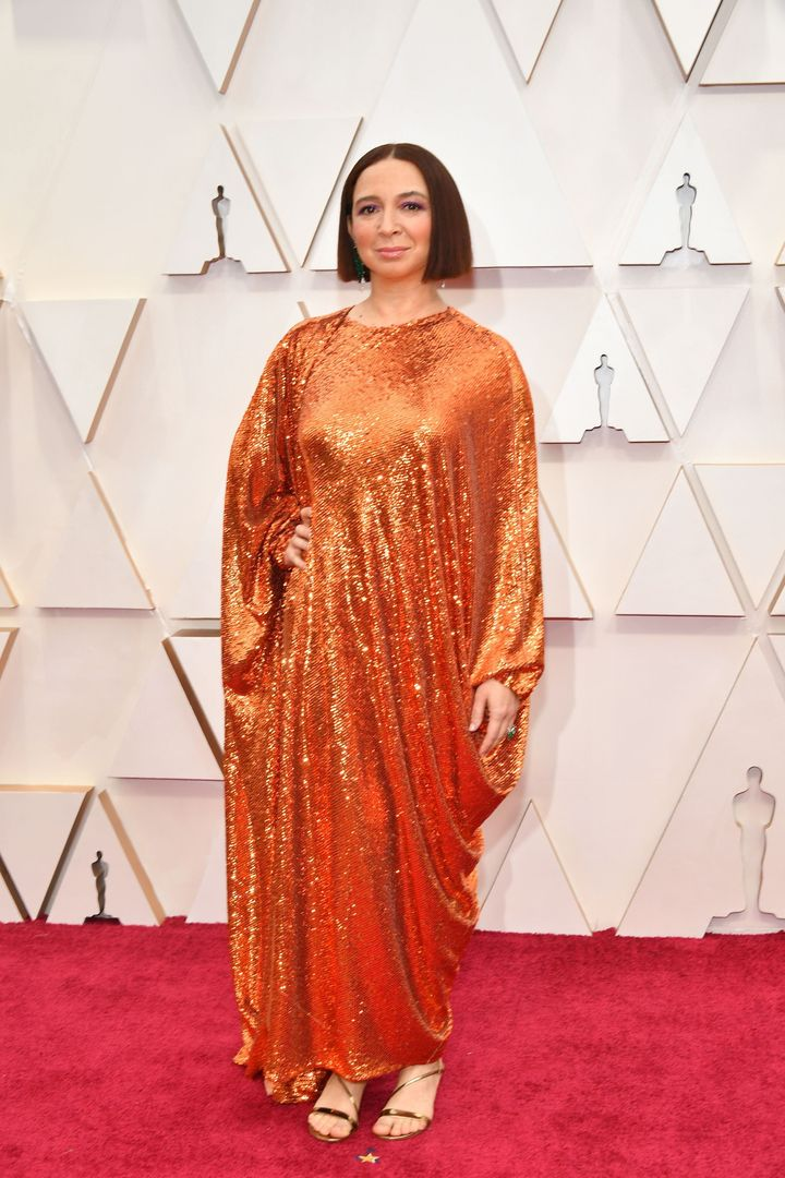 HOLLYWOOD, CALIFORNIA - FEBRUARY 09: Maya Rudolph attends the 92nd Annual Academy Awards at Hollywood and Highland on February 09, 2020 in Hollywood, California. (Photo by Amy Sussman/Getty Images)