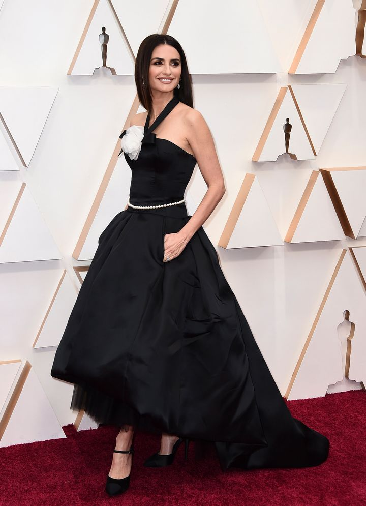 Penelope Cruz arrives at the Oscars on Sunday, Feb. 9, 2020, at the Dolby Theatre in Los Angeles. (Photo by Jordan Strauss/Invision/AP)