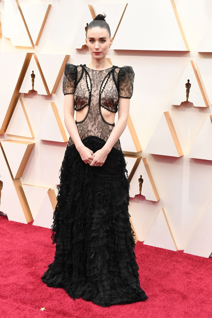 HOLLYWOOD, CALIFORNIA - FEBRUARY 09: Rooney Mara attends the 92nd Annual Academy Awards at Hollywood and Highland on February 09, 2020 in Hollywood, California. (Photo by Steve Granitz/WireImage)