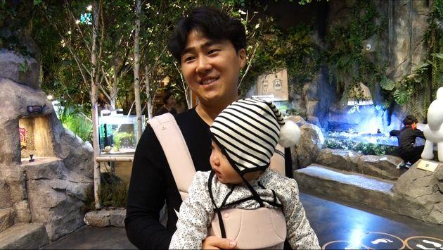 안소미가 15개월 된 아기 업고 '개그콘서트' 출연한