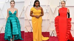Hollywood Royalty Favoured Jewel Tones On The Oscars Red