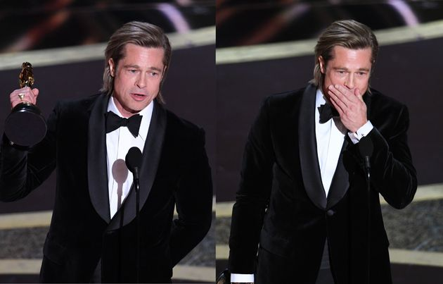 Emotional Brad Pitt Dedicates First Acting Oscar Win To Kids: I Adore You