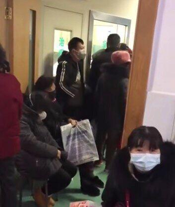 陳さんが撮影した病院の様子