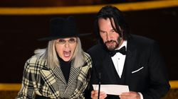 Diane Keaton And Keanu Reeves' Flirtatious Oscars Banter Deserves Its Own
