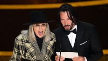 Diane Keaton Und Keanu Reeves Kokett Oscars Geplänkel Verdient Seinen Eigenen Rom-Com