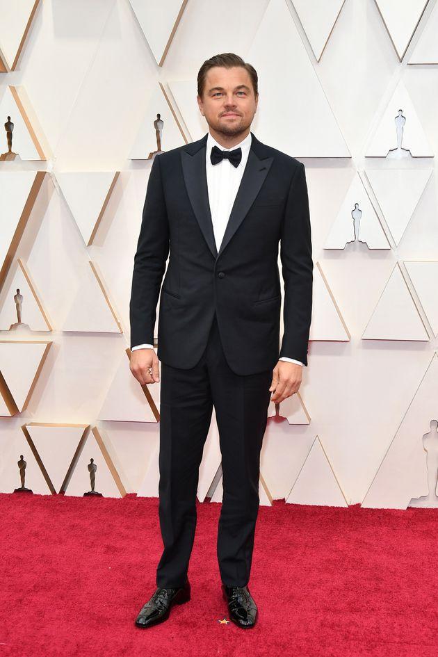 Leonardo DiCaprio at the 92nd Academy