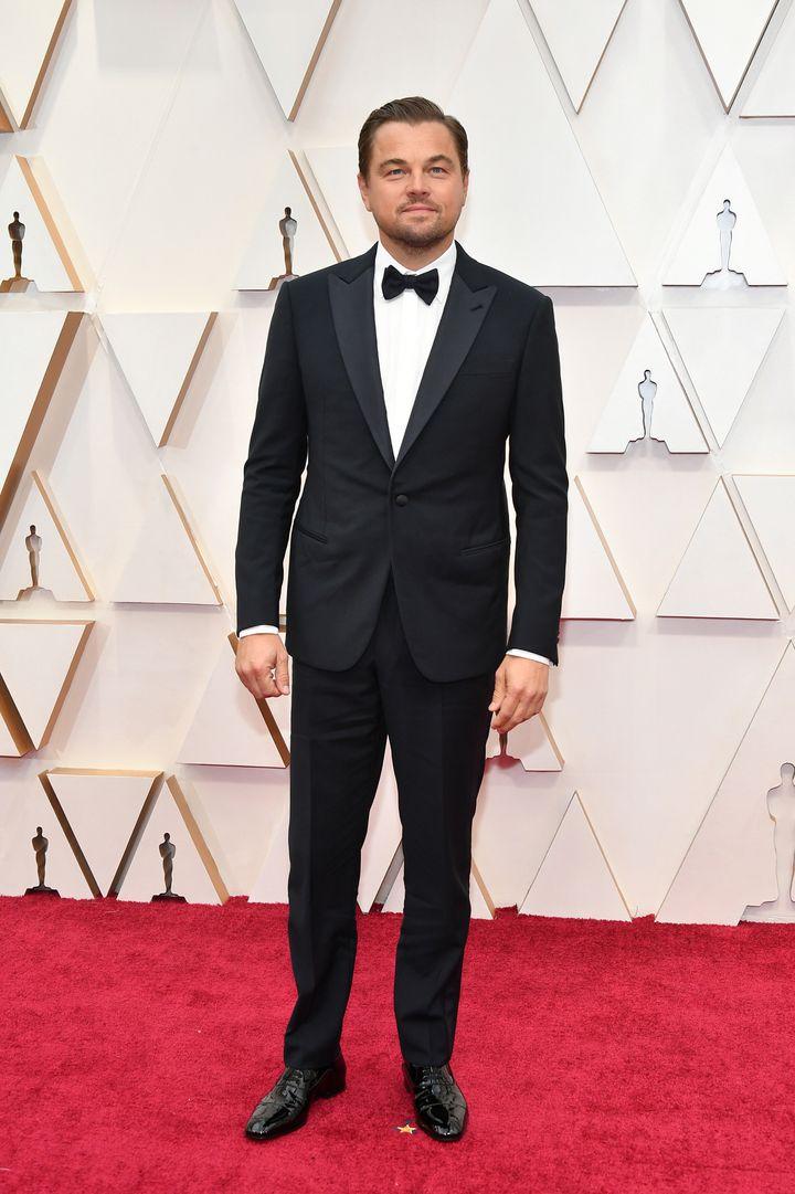 Leonardo DiCaprio at the 92nd Academy Awards.