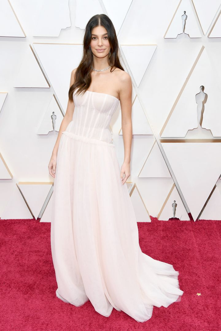 Camila Morrone at the 92nd Academy Awards.