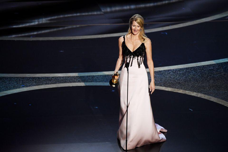 「マリッジ・ストーリー」で助演女優賞を受賞したローラ・ダーンさん