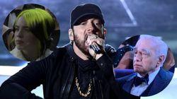 Lo que dicen las reacciones a la actuación de Eminem de la brecha generacional en