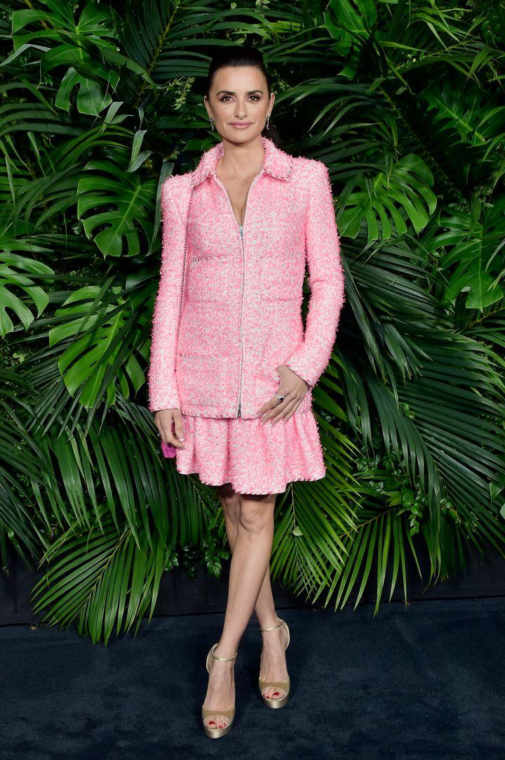 Penélope Cruz en la fiesta de Chanel previa a los Oscar.