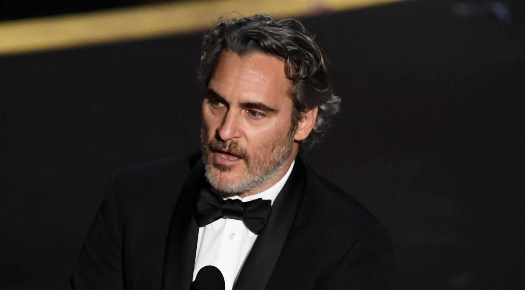Joaquin Phoenix Honors Late Brother River In Emotional Oscars Speech On 'Injustice'