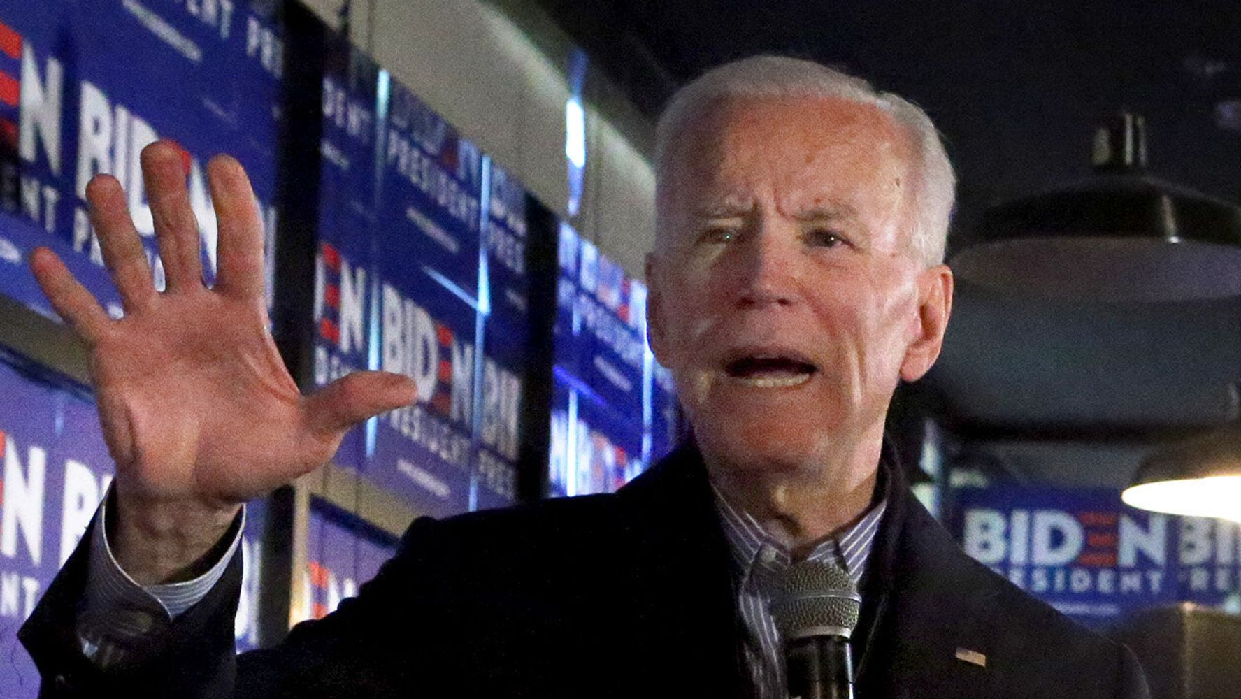 Westlake Legal Group 5e40dcce2100002e00838204 Lying Dog-Faced What??? Biden Mystifies With Bonkers Joke Insult At Voter