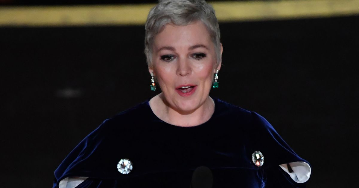 Olivia Colman's Oscars Speech This Year Was Brilliantly Rude
