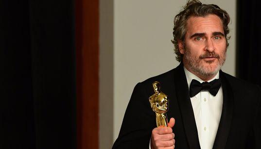 O sincero e tocante pedido de ajuda de Joaquin Phoenix ao ganhar o Oscar de Melhor