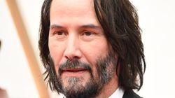 Keanu Reeves se lleva los aplausos por quién se llevó a la alfombra roja de los