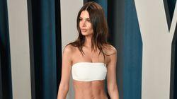 El no-vestido de Emily Ratajkowski y otros 'looks' de la fiesta Vanity Fair tras los