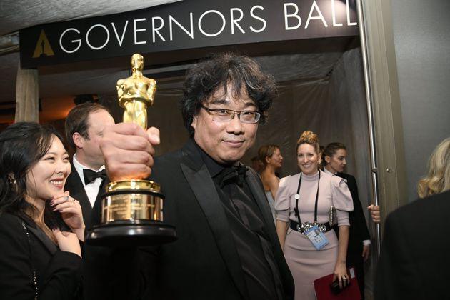 アカデミー賞の作品賞を受賞したポン・ジュノ監督