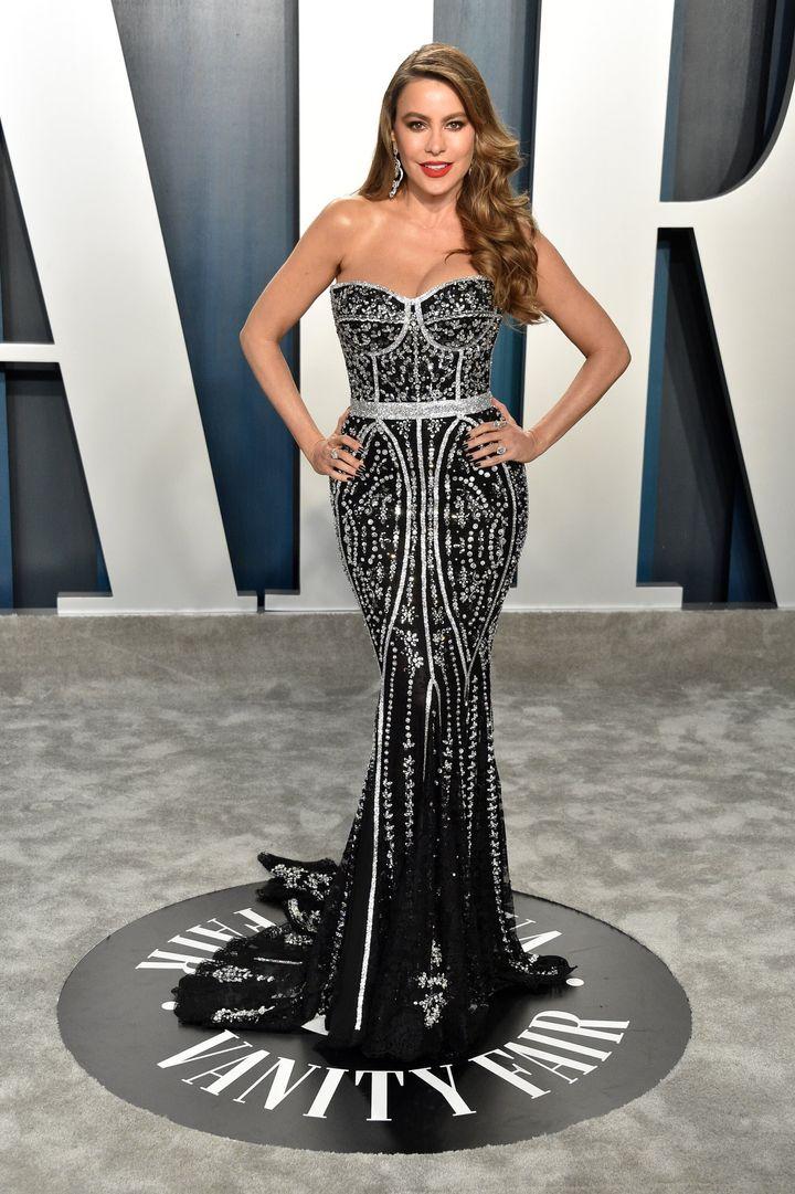 Η ηθοποιός Σοφία Βεργκάρα με Dolce & Gabbana.