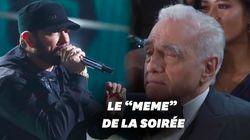 Le concert d'Eminem aux Oscars en a surpris plus d'un, Scorsese le