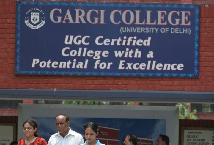 A view of Gargi college.