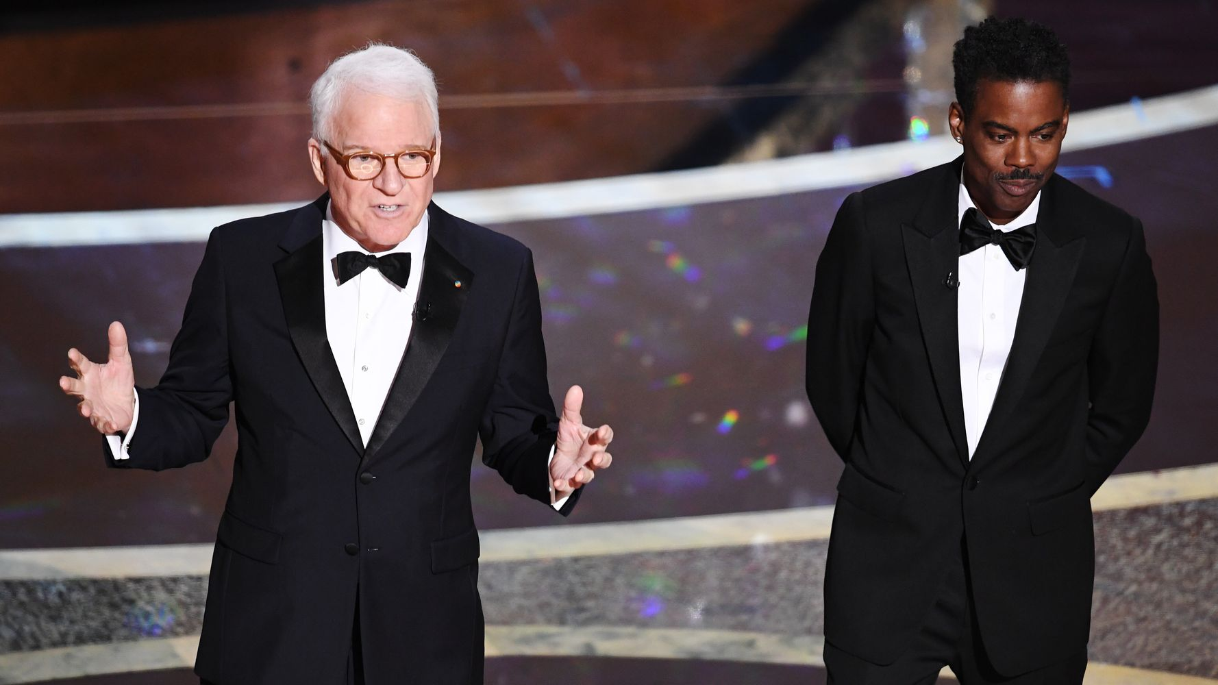 Westlake Legal Group 5e4166d9250000550033d517 Steve Martin Helped Open The Oscars With A Dig At The Iowa Caucuses