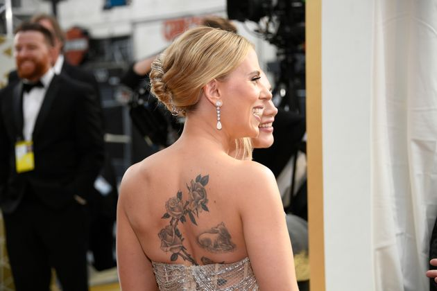 Scarlett Johansson attends the 92nd Annual Academy