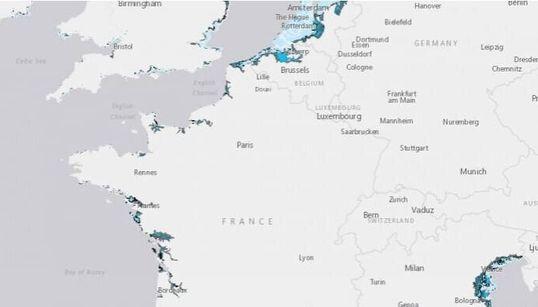 Ces littoraux français sont menacés par la montée des eaux d'ici