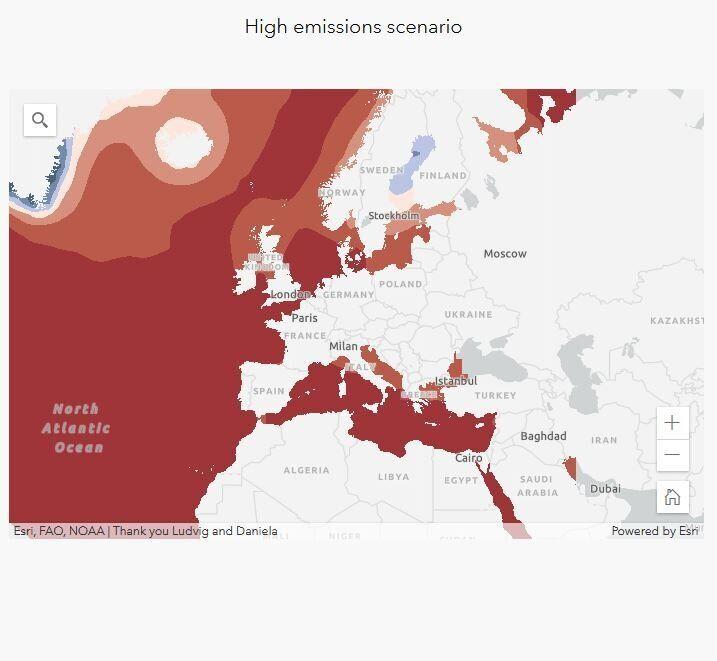 Montée des eaux: voici la carte des littoraux français menacés d'ici