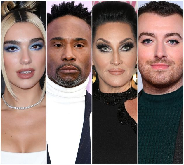 Dua Lipa, Billy Porter, Michelle Visage and Sam Smith are all up for a British LGBT
