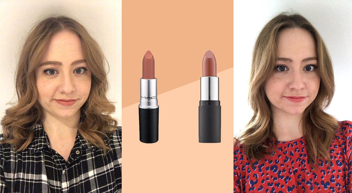 How Does Mac S Velvet Teddy Lipstick Compare To The Body Shop S Sienna Rose Huffpost Uk Life