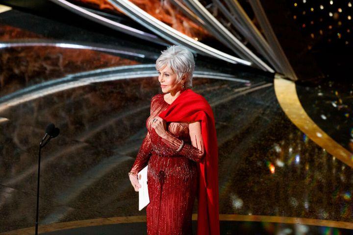 Jane Fonda en la ceremonia de los Oscar 2020.