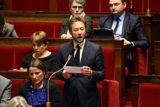 Le député socialiste Boris Vallaud le 14 janvier 2020 à l'Assemblée