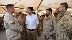 Canada Must 'Step Up' In Middle East, Trudeau Tells Troops In