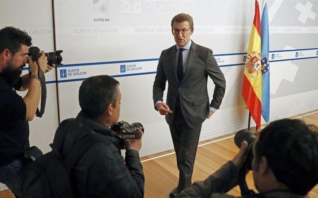 El presidente de Galicia, Alberto Núñez