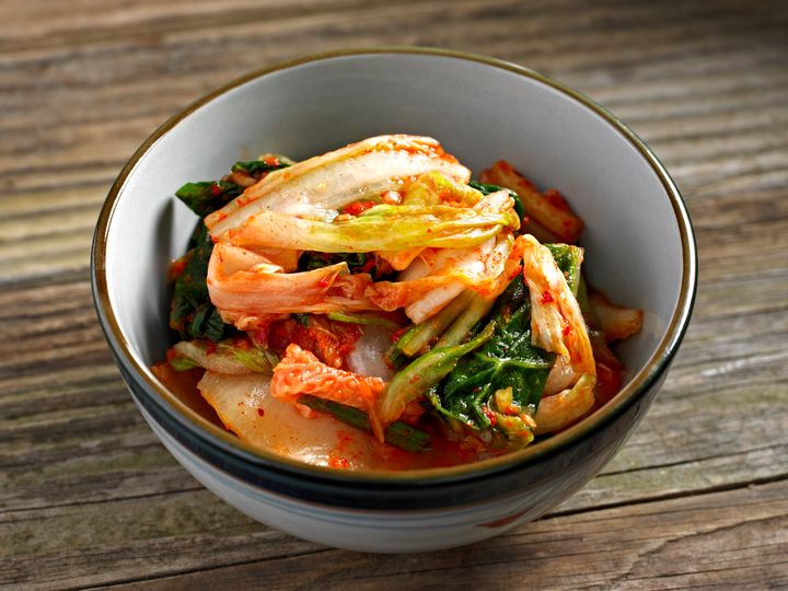 Kimchi is spicy, garlicky, fermented and salted cabbage. It's a Korean food staple, but it caused some hardship for Choi Woo-shik at school.