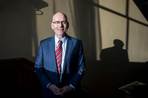 Steven Del Duca poses for a photo at the Ontario legislature in Toronto on Jan. 17,