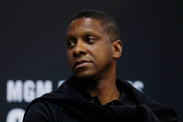 Masai Ujiri at the Cox Pavilion on July 10, 2019 in Las Vegas,