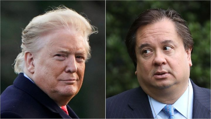 President Donald Trump, and the husband of his White House counselor, George Conway.