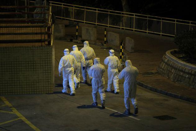 Évacuation à Hong Kong le 11 février