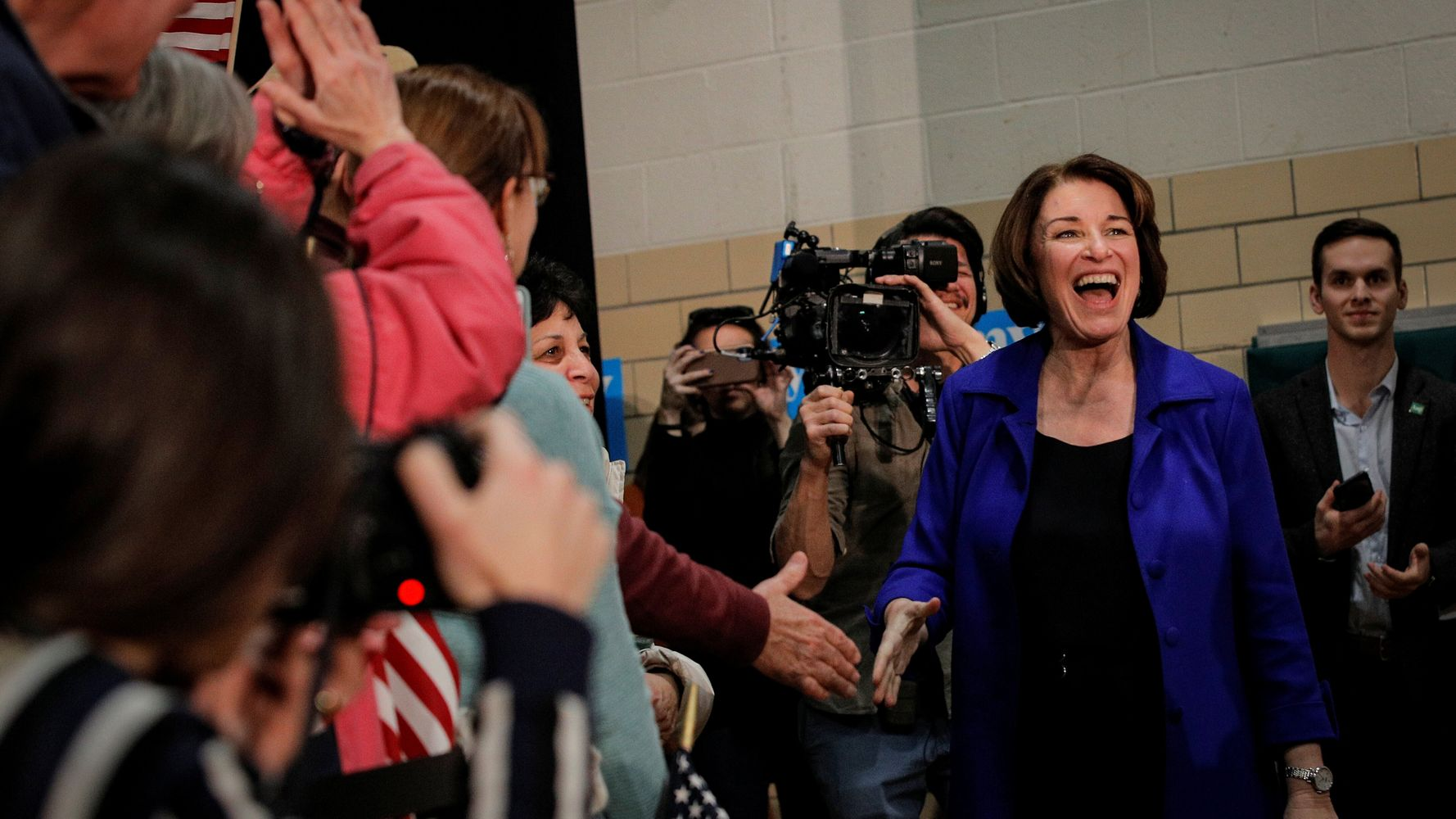 Westlake Legal Group 5e422135210000ca0116dce0 The Long-Predicted Klobuchar Surge May Finally Be Happening