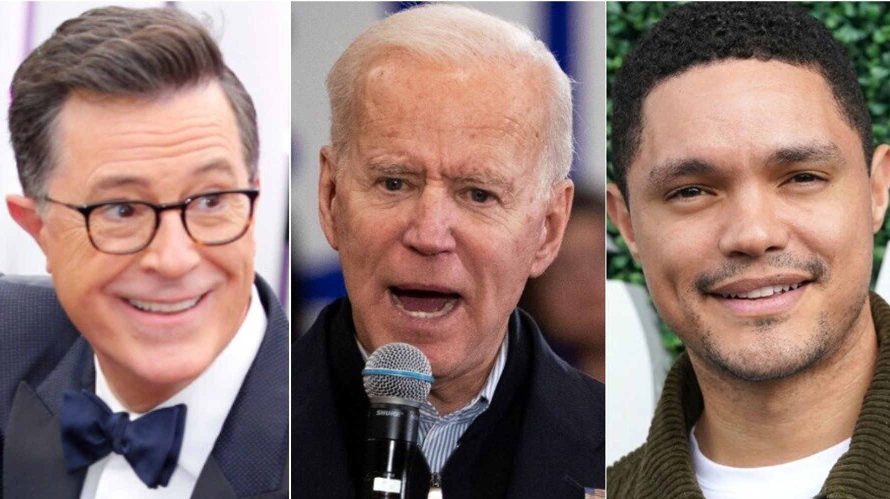 Westlake Legal Group 5e4229f1250000320033d5e5 Late Shows Cook Up Their Own Bizarre Biden-Style 'Pony Soldier' Insults