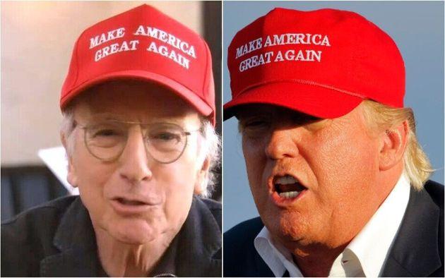Larry David and Donald