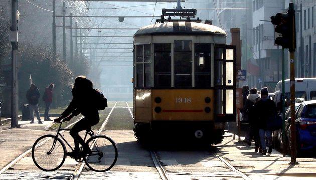 Un tram a