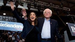 Sanders y Trump convocan a las masas en el cierre de campaña en Nuevo